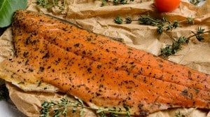 Cured and Smoked Salmon