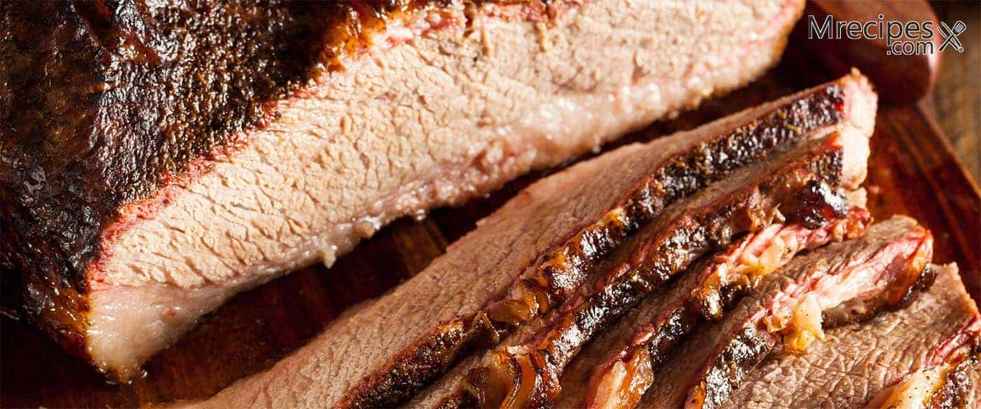 Easy Smoked Brisket On A Masterbuilt Smoker Recipe