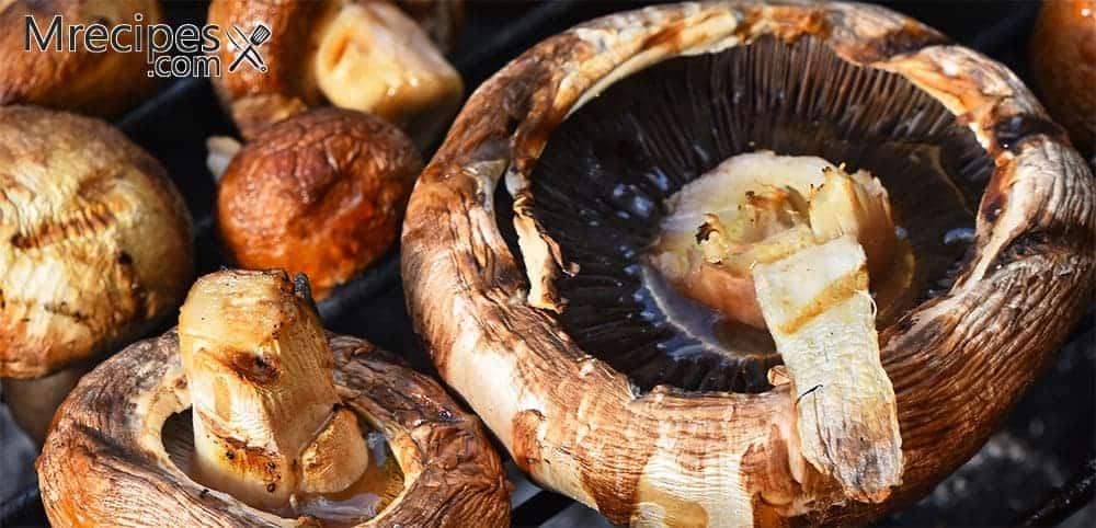 Smoked Portobello Mushrooms