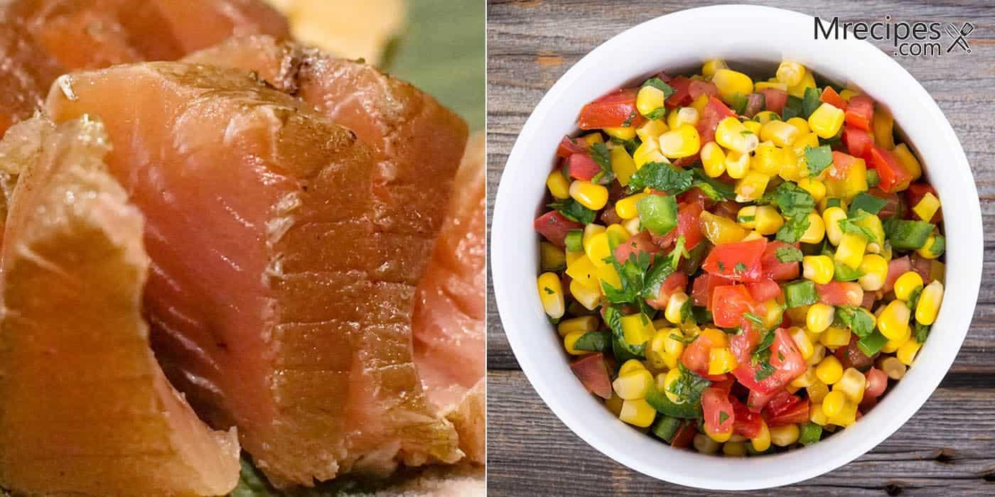Lemon Pepper Smoked Tuna Recipe