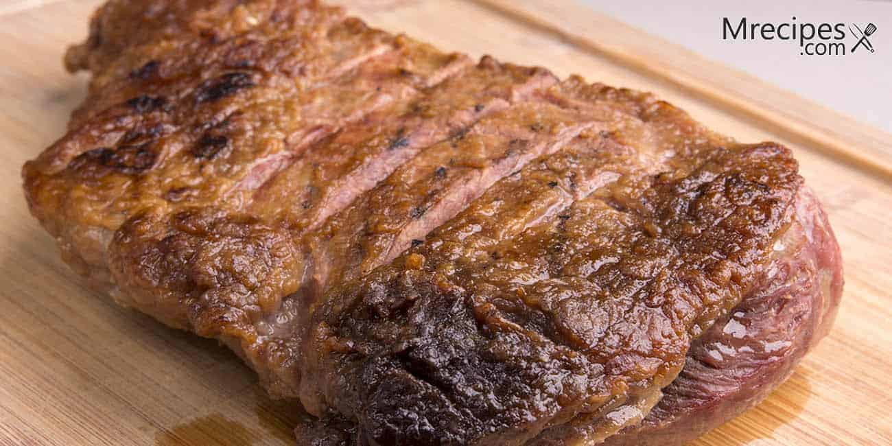 Dry Rubbed and Smoked Tri-Tip Roast Recipe