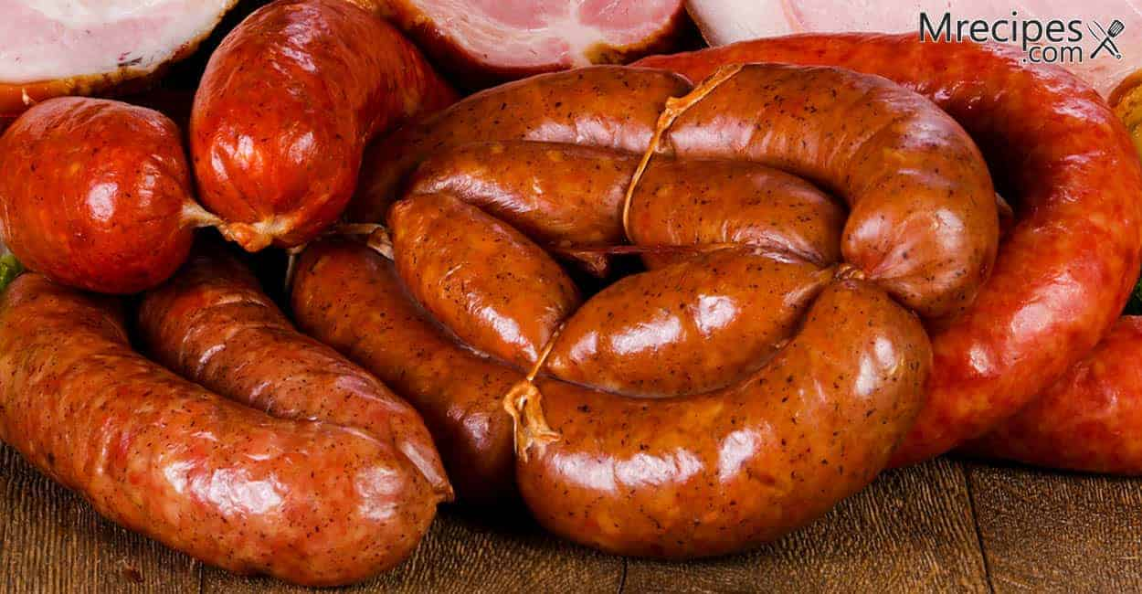 Smoked Pork and Lamb Sausage Recipe
