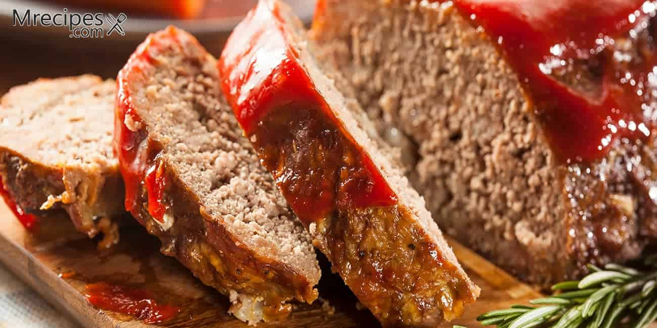 Smoked Beef Meatloaf with Tangy Glaze Recipe