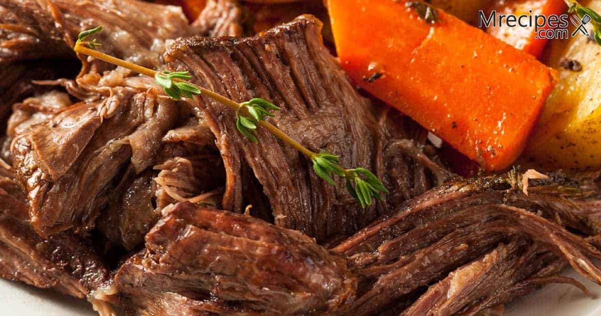 Smoked Seasoned Chuck Roast Recipe