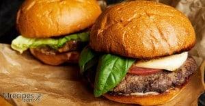 Masterbuilt Smoker smoked hamburgers