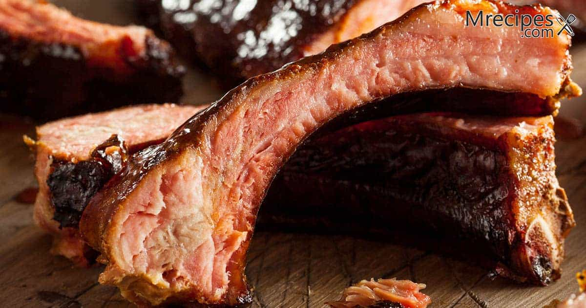 New England Style Smoked Baby Back Ribs Recipe