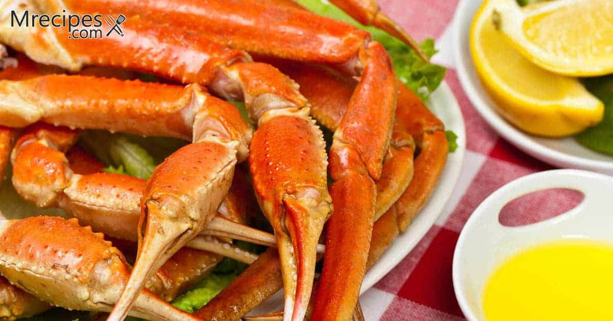 Butter Basted and Smoked King Crab Legs Recipe