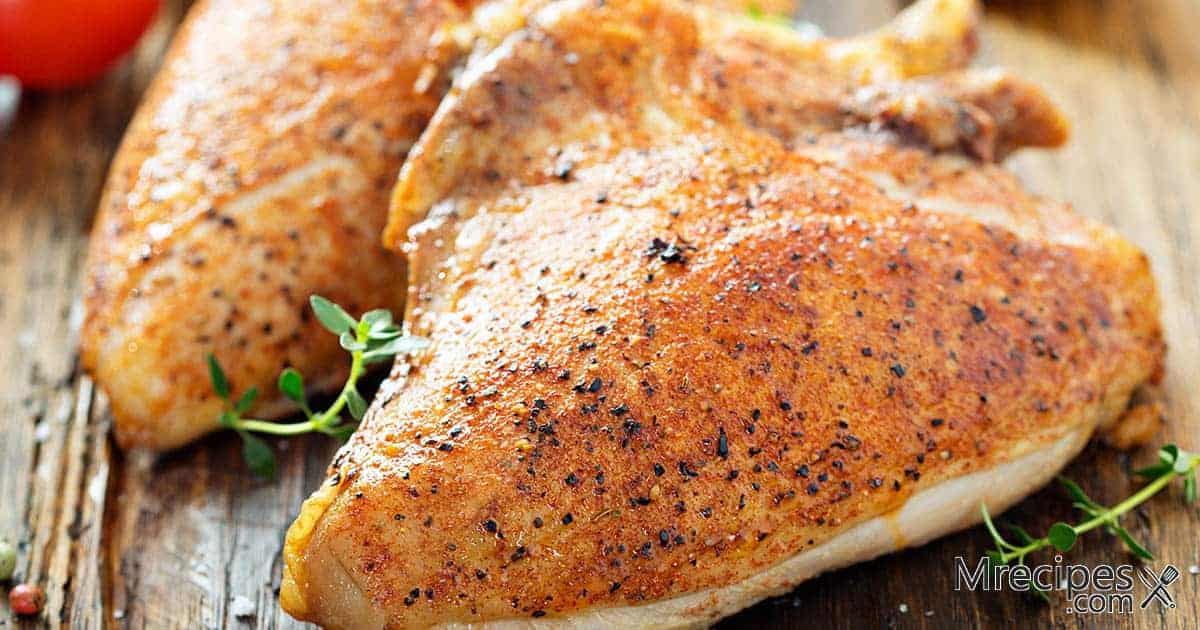 Smoked Bone-In Chicken Breasts and Thighs Recipe