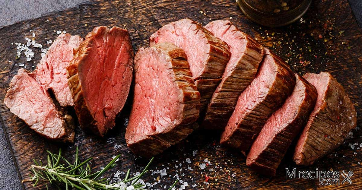 Smoked Beef Tenderloin with Horseradish Sauce Recipe