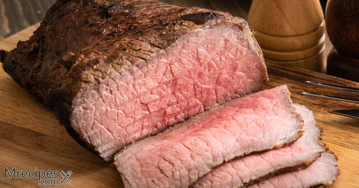 Dry Rubbed and Smoked Bottom Round Roast Beef Recipe