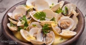 Smoked clams