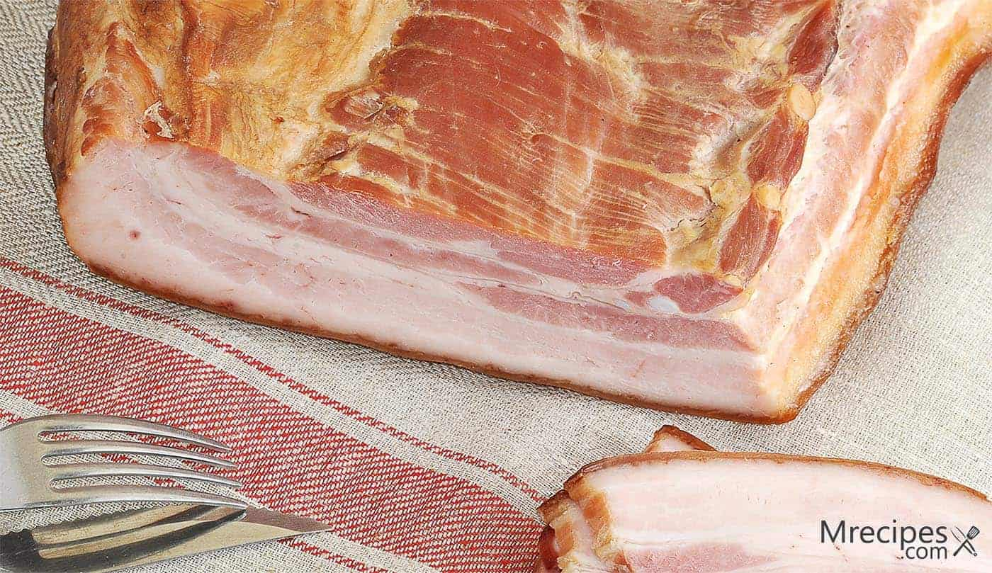 Sweet and Savory Dry-Brined and Smoked Pork Belly Recipe